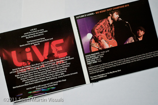 Live at the Live Lounge Volume 5 - cd package interior