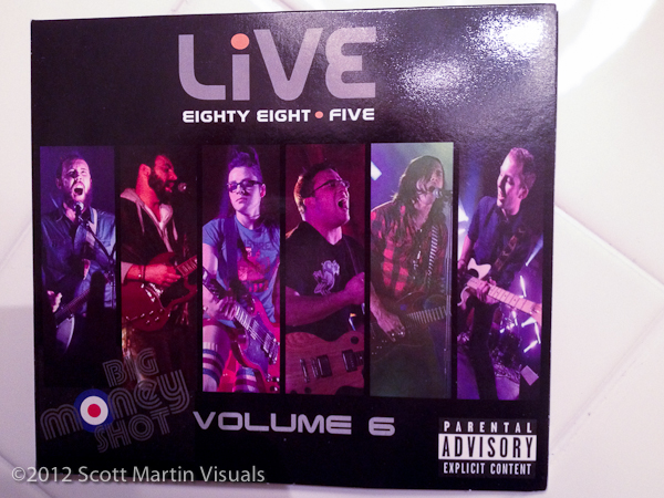 LiVE 88.5 Big Money Shot CD Volume 6 - cover
