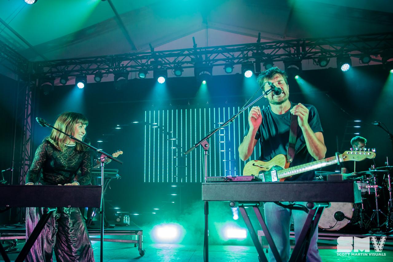 Oh Wonder at Ottawa Bluesfest 2018 - Scott Martin Visuals